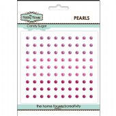 The Hobby House Self Adhesive Pearls - 3mm Candy Sugar - HH311